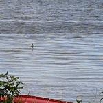 noch recht ruhige See