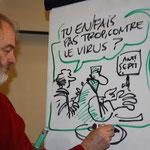 """Semaine numérique 2011 - Soirée """"Surfons tranquille"""" avec Olivier Bogaert et Serdu"""