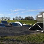 Skatepark free ride Vouhé 17