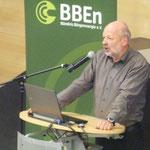 Hans-Josef Fell macht Mut für das Duchsetzen von BürgerEnergieprojekten