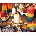 die Kerzen (brennen)