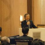 第7回社員総会 映画から学ぶ自然災害の恐ろしさ、そして防災対策の大切さ 講師 映画解説者 小澤正人様