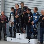 Franck et Vincent vainqueur 350 Prout Mono avec le DCF à haute Saintonge