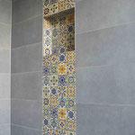 Orientalische Favencen, Patchwork-Mix 10x10 cm