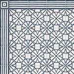 SOUTHERN TILES_CAROCIM, Zementfliesen_Bordüre: DHAR CR111, 10x20 / 1,6 cm // Dekor: Etoile CR105, 20x20 / 1,6 cm