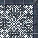 SOUTHERN TILES_CAROCIM, Zementfliesen_Bordüre: DHAR CR111, 10x20 / 1,6 cm // Dekor: Etoile CR305, 20x20 / 1,6 cm