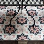 Zementfliese von Southern Tiles (Sonderproduktion): ELIOS, rosa 20x20 / 1,6 cm