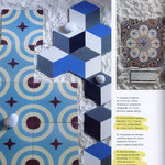 Coté Sud: In unserem Sortiment: Zementfliesen von CAROCIM und Couleurs & Matières