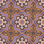 SOUTHERN TILES_Zementfliesen CAROCIM, Dekor: Redite M407, 20x20 / 1,6 cm