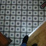 Cimenterie de la Tour, Zementfliese_Dekor: M0782 Petit Star Diagonale, 20x20 / 1,7 cm