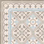 Zementfliesen von Couleurs & Matières / Dekor: Normandie 07.36.06, 20x20 / 1,5 cm