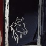 Pferdekopf  h = 70 cm  b = 50 cm € 140 inkl. Aufhängung, vorrätig