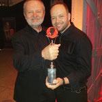 Alexander Lepschi mit stolzem Papa Wolfgang Lepschi