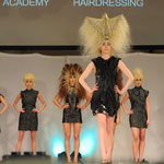HAIR is your LIFE 2016 - live on stage - Avantgarde-Show - Styling: Claudia Behnke (UK) mit Marko Mitanovski
