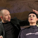 Alexaner Lepschi präsentiert sein Schnittmodel