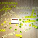 Небольшая разминка перед игрой, стена с идеями и самовыражением!