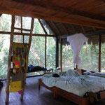 Unsere Unterkunft - ohne Wände