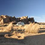 Abendstimmung auf dem Altiplano