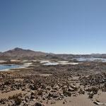 Bizarre Landschaften auf knapp 500 m.ü.M.