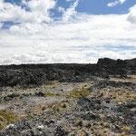 Kalte Lavafelder