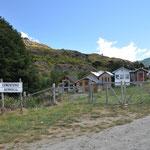 Typisch patagonischer Friedhof