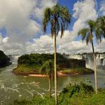 Gigantische Wasserfälle - Foz do Iguazu