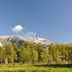 Aufstieg zum Vulkan Chaiten