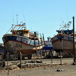 Wunderschöne Fischfangboote