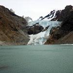Gletscher beim Fitz Roy