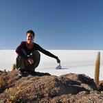 Der grösste Salzsee der Welt - Salar de Uyuni