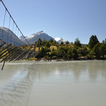 100 jährige Hängebrücke