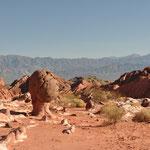 Valle Encantado - Unglaubliche Felsformationen