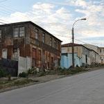 Punta Arenas: nicht das neuste Gebäude
