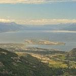 Am Ende des Kontinenten - Blick über Ushuaia - Ein Traum!