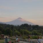 Der Vulkan Villarica