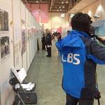 韓国のテレビ局CBSが取材に来てくれました!