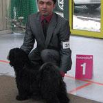 CAC Glauchau 2011_Caesar´s Ce-Luuh-Naah made of Dog´s Wisdom_V1_JCAC Club+VDH_JugendSiegerin Glauchau 2011
