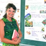 Frau Ursula Feichtinger, Gruppenleiterin der Alten-/Stationspflegegruppe