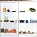 Kunstvolles aus Keramik und Holz