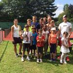 Die Gewinner des Camps