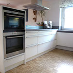 Einbauküche in weiß