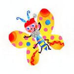 「F」Farfalla 蝶々 butterfly