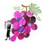 「U」Uva ぶどう grapes