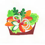 「I」Insalata サラダ salad
