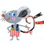 「T」Topo ネズミ mouse