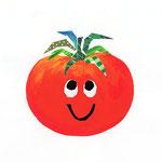 「P」Pomodoro トマト tomato