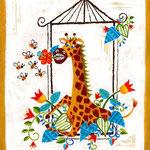 room no.1 giraffe 1号室ガーデニング大好きなキリンさん