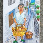 Mijas Spain ミハスのパン屋さん