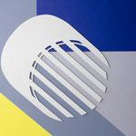 Centre de table Lines / couleur craie RAL 9002  n° 23