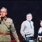 """Als General Dönitz in """"Hitlers Dr. Faust"""" 2002 Schlossparktheater Berlin"""